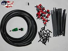 Drip Irrigation System, Plant Self Watering, for 10 plants. 40Ft Tubing