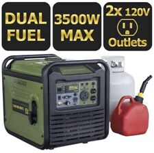 Sportsman 3500w Inverter Generator Dual Fuel