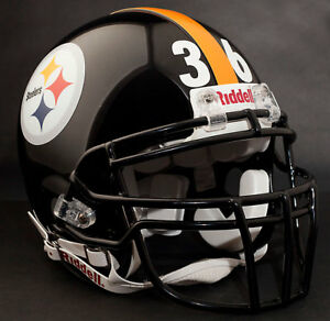 JEROME BETTIS Edition PITTSBURGH STEELERS NFL Riddell AUTHENTIC Football Helmet