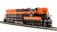BROADWAY LIMITED 5806 HO SD9 GN 573 Empire Builder Paragon3 Sound/DC/DCC
