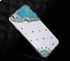 Butterfly Bling 3D Rhinestone Crystal Case cover for Apple iphone7 4.7' H-137