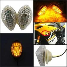 Flush Mount 15 LED Turn Turning Signal Indicators F Honda CBR600RR F4 CBR1000RR