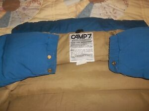 Camp 7 Goose Down Vintage Parka Puffer Jacket Coat Rare USA Small DURABLE NICE