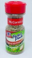 McCormick Perfect Pinch Original All Purpose Salt Free 1.4 oz. Sealed Expired