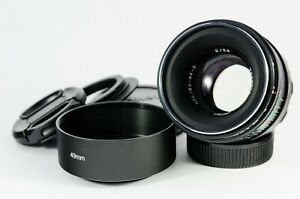 Helios 44-2 lens modified for Petzval effect for M42/Micro Four Thirds/Canon EF