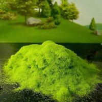 100Gram Artificial Grass for Model Micro Landscape Fake Moss Powder Cover Algae