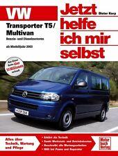VW T5 Multivan Jetzt helfe ich mir selbst Reparaturanleitung Reparaturbuch Buch