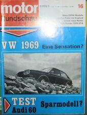 * Motor-Rundschau 16   / 1968 - Alfa Romeo Giulia 1300 GTA - BMW 1800 / 2000