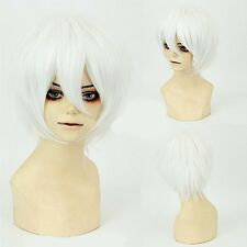 Black Brown Blonde Wig Unisex Anime Short Wig Straight Hair Cosplay Costume Wigs