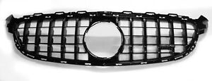 AMG GT Grille to suit Mercedes-Benz C63s W205, C205, S205 - Gloss Black