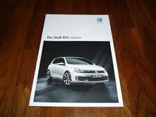 VW Golf GTI ADIDAS Prospekt 05/2011