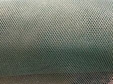 "Net Mesh Fabric - Soft - Blue Silver - 45"" / 115cm Wide - Per Meter"