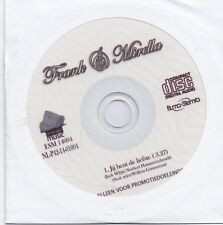 Frank&Mirella-Jij Bent De Liefste promo cd single