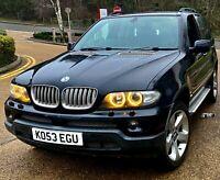 2004 BMW X5 4.4i V8 MOT, FSH, HPI CLEAR