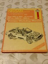 NISSAN DATSUN CHERRY N12 1982 TO 1985 HAYNES WORKSHOP MANUAL 1031 USED CONDITION