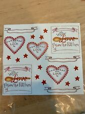 Susan Branch Stickers - Kitchen Love 12691