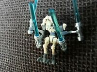 Lego minifigure star wars general grievous with 4 lightsabers