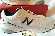 R81 82 83 New Balance 608 Mens White Athletic Shoes Size 17ee New No Box