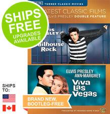 Jailhouse Rock / Viva Las Vegas (DVD, 2014) NEW, Elvis Presley, Ann-Margret, TCM