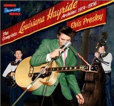 ELVIS PRESLEY<>00P<>COMPLETE LOUISIANA HAYRIDE ARCHIVES 1954-56<>CD HB BOOK