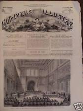 L'UNIVERS ILLUSTREE 1872 N 905 LYON : CONSEIL DE GUERRE