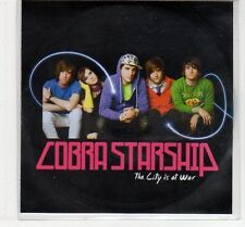 (EC769) Cobra Starship, The City Is At War - DJ CD