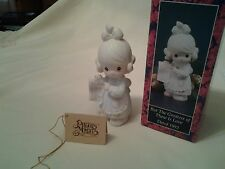 "Precious Moments "" But The Greatest Gift Is Love""1992 #527688 MIB"
