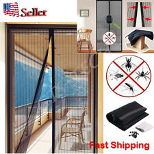 Hands Free Magic Mesh magnets Screen Net Door  Anti Mosquito Bug Curtain
