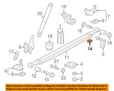 GM OEM Rear Suspension-Leaf Spring Insert 20870046