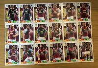 PANINI ADRENALYN XL PREMIER LEAGUE 2019/20 TEAM SET OF ALL 18 ASTON VILLA CARDS