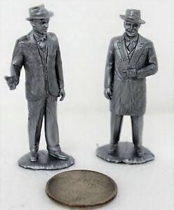 Marx Untouchables Elliott Ness Al Capone Silver