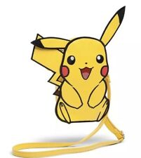 Pokémon PIKACHU Faux Leather Crossbody Purse Bag  ✨ OFFICIAL LICENSED NEW ✨