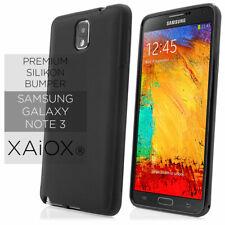 Samsung Galaxy Note 3 N9000 N9005 HandyHülle Bumper Cover schwarz