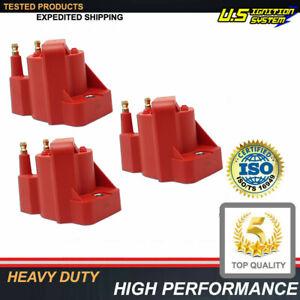 3.8 V6 3800 Hi Voltage Ignition Coil Packs 3pcs for GM 3.8L Performance Pack
