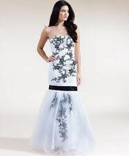 FOREVER UNIQUE JULIET FLORAL CORSET TOWIE PROM WEDDING GOWN DRESS 12 40 £3500