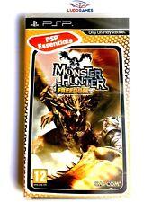 Monster Hunter Freedom PSP Playstation Nuevo Precintado Retro Sealed New PAL/SPA