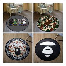 Bape A Bathing Ape Floor Rug Carpet Bed Room Doormat Non-slip Round Chair Mat&