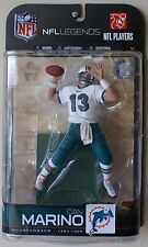 Nfl Legends 5 Dan Marino regular + white chase action figure~Dolphins~Nib