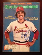 Keith Hernandez signed autograph Sports Illustrated SI Magazine Cardinals Mets