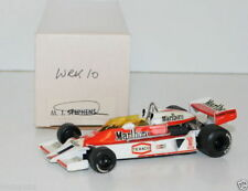 WESTERN MODELS SIGNED 1st VERSION - 1/43 SCALE - WRK10 McLAREN M26 FORD - J HUNT