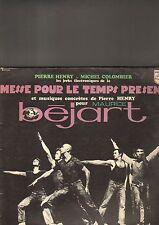 Pierre Henry  – Les Jerks Électroniques .... puor maurice bejart - LP