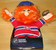 Montreal Canadiens Bleacher Creatures Plush Doll Toy Yuppi Mascot Puppet NHL