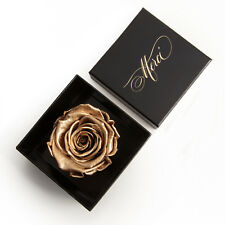 Rosenbox Merci Goldene Rose Infinity 3 Jahre haltbar Danke Geschenk Frauen