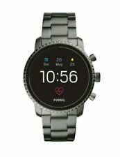 Fossil Men's Grey Gen 4 Explorist HR Stainless Steel Touchscreen DW6F1 FTW4012