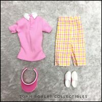 BARBIE PINK ON THE GREEN GOLF OUTFIT BARBIE LOOK NEW