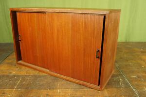 String Regal Teak 60s Sideboard Schrank Vintage Danish für Hairpin Legs 60er 2