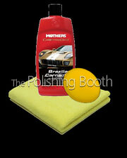 Mothers California Gold Brazilian Carnauba Cleaner Wax + Microfibre & Applicator