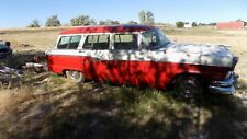 1955 1956 FORD STATION WAGON UPPER TAIL GATE WITH GLASS NICE DRY DESERT PART