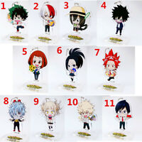 Anime My Boku no hero academia Acrylic Keychain Key Ring Race Straps Cosplay