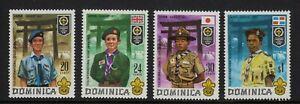 DOMINICA  1971  World Scout Jamboree, - Asagiri, Japan.  MNH